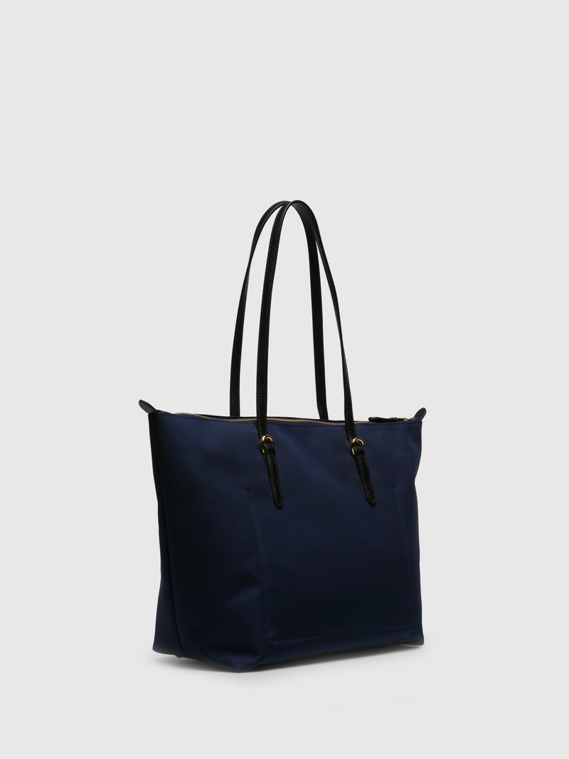 RALPH LAUREN Blue Shoulder Bag