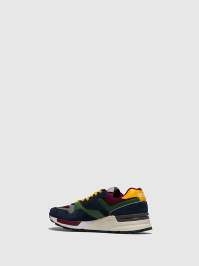 RALPH LAUREN Multicolor Lace-up Trainers