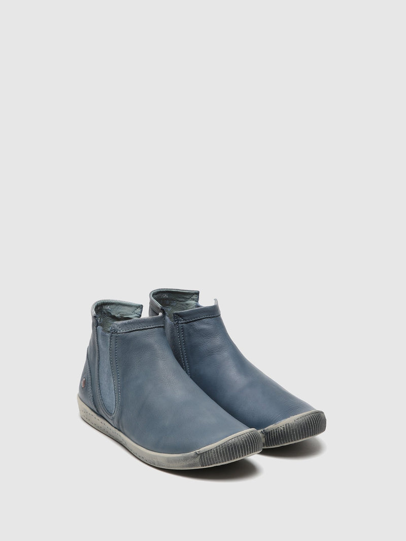 Softinos Chelsea Boots ICI486SOF WASHED NAVY