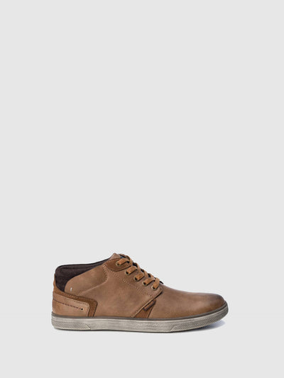 Refresh Wheat Lace-up Shoes