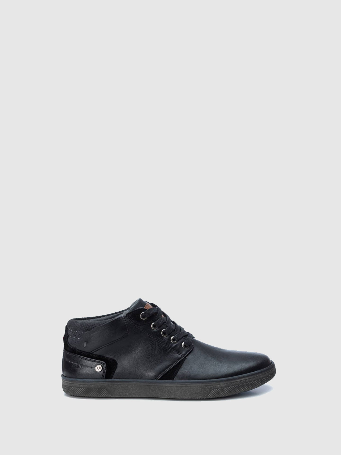 Refresh Black Lace-up Shoes