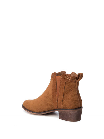 Refresh Wheat Elasticated Ankle Boots
