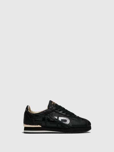 Replay Black Lace-up Trainers