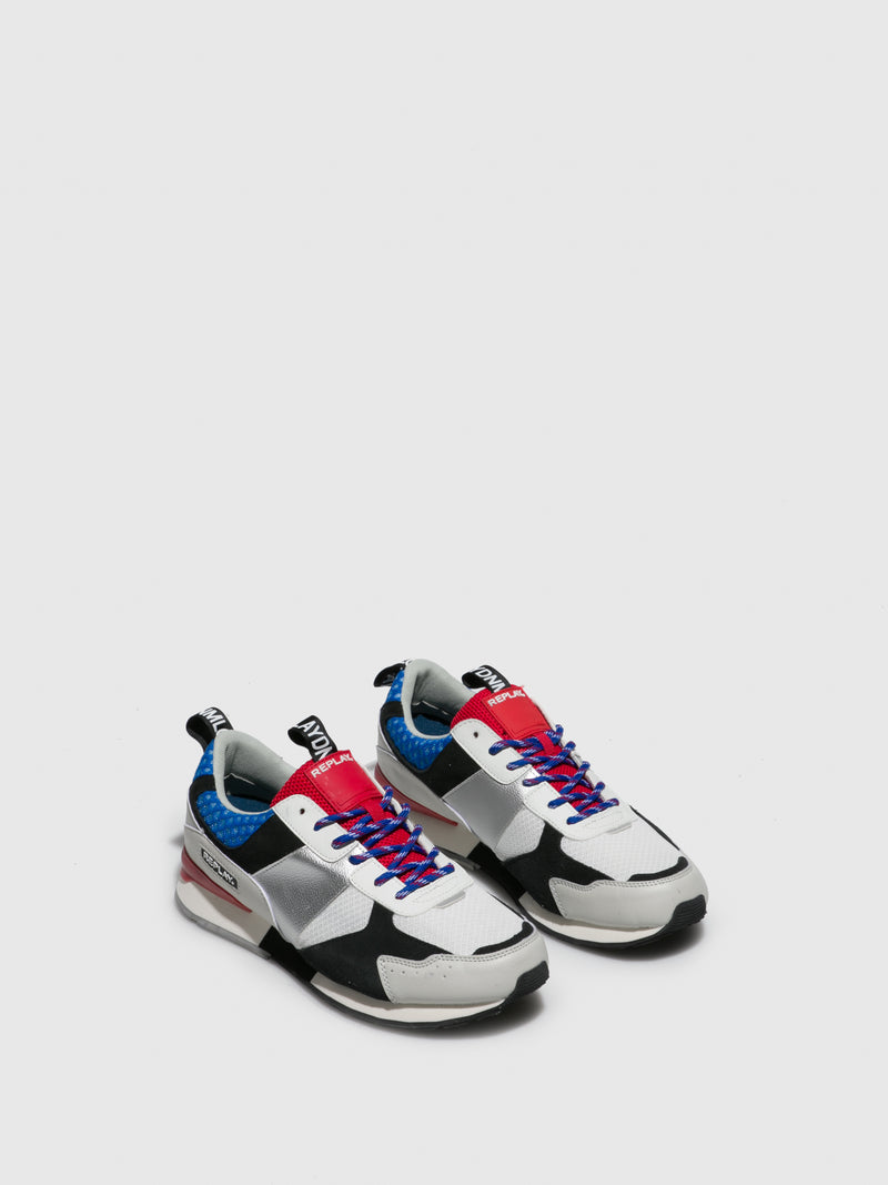 Replay Multicolor Lace-up Trainers
