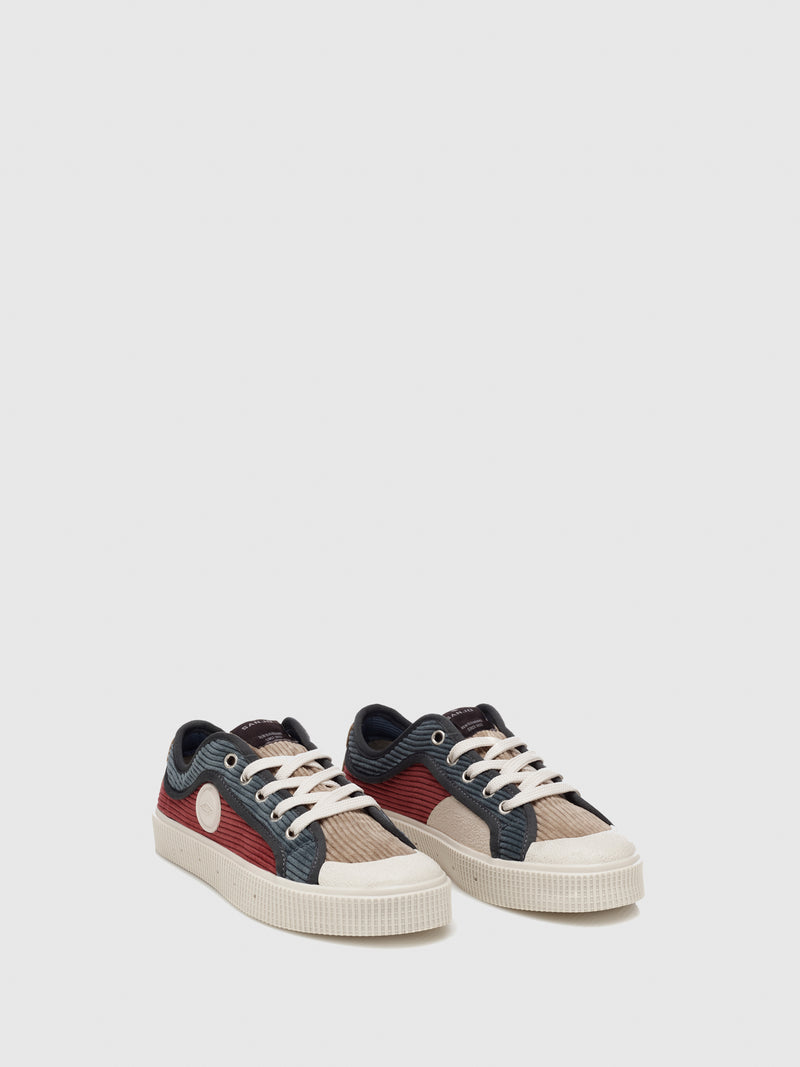 Sanjo Multicolor Bombazine Lace-up Trainers
