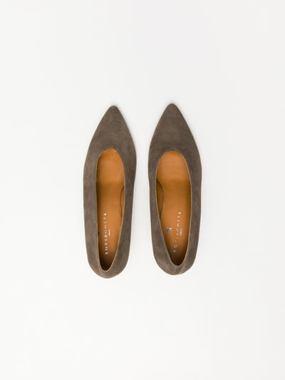 Sofia Costa Tan Classic Pumps Shoes