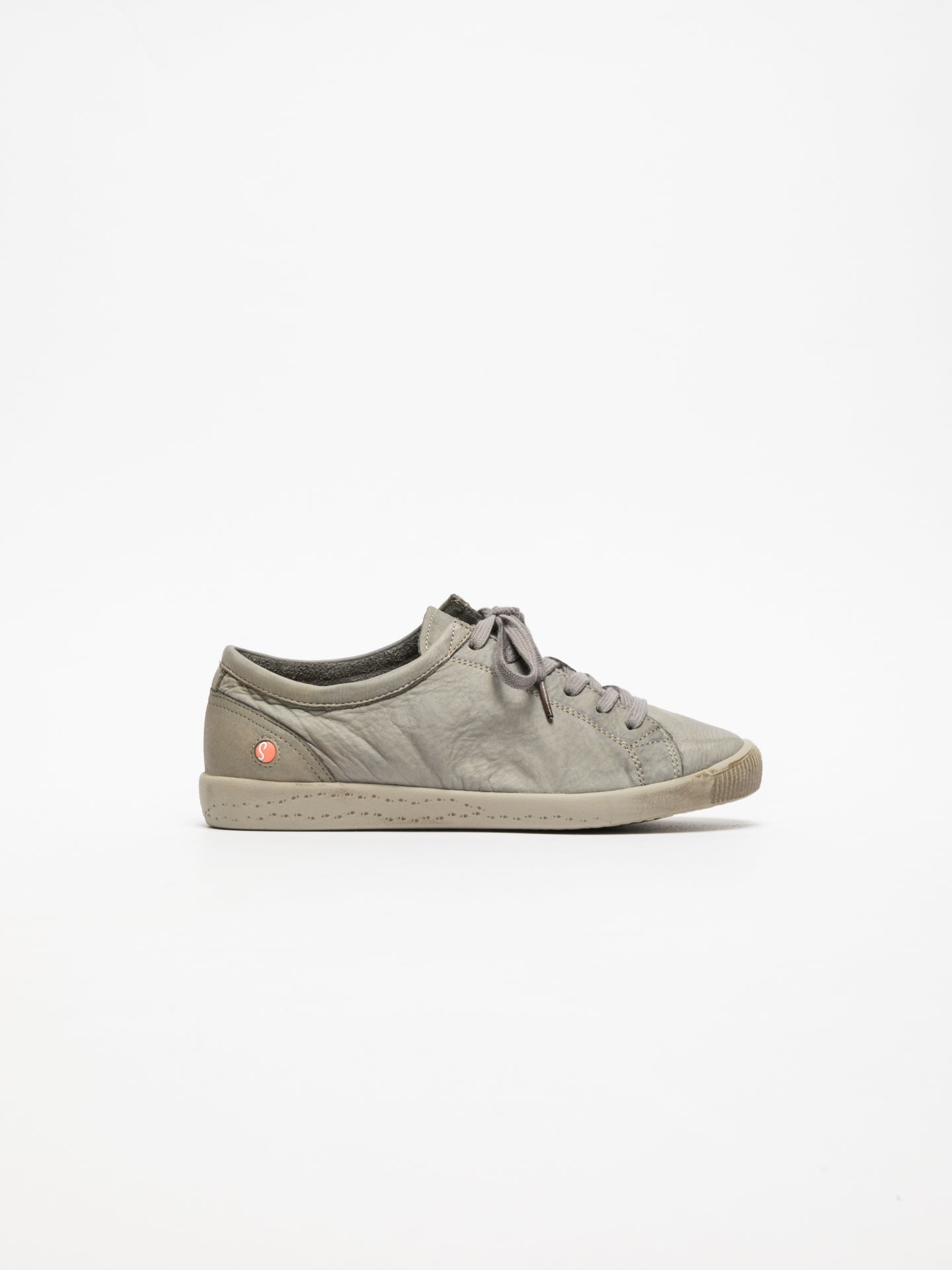 SOFTINOS LightGray Lace-up Trainers