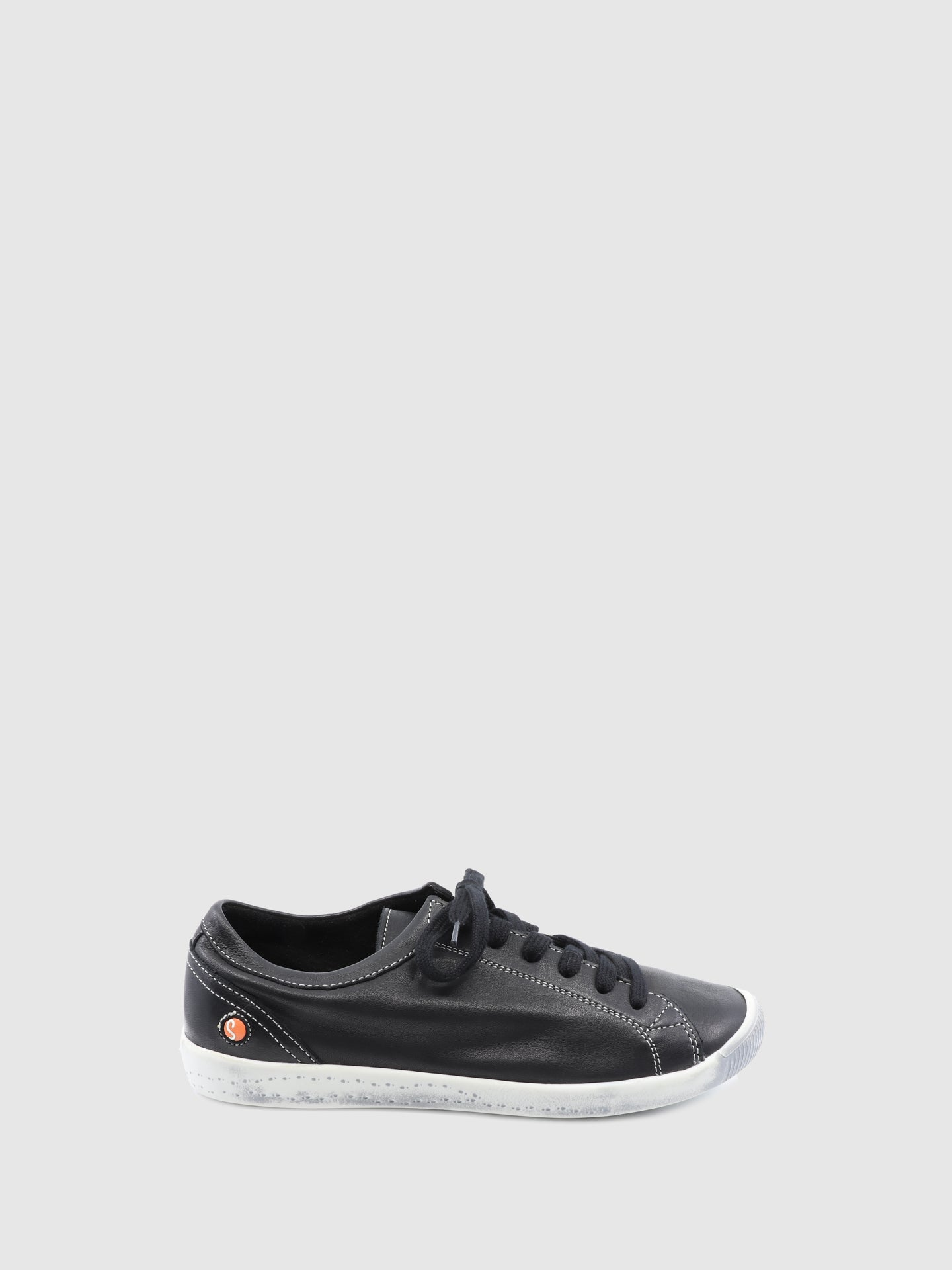 Softinos Lace-up Trainers ISLA Black