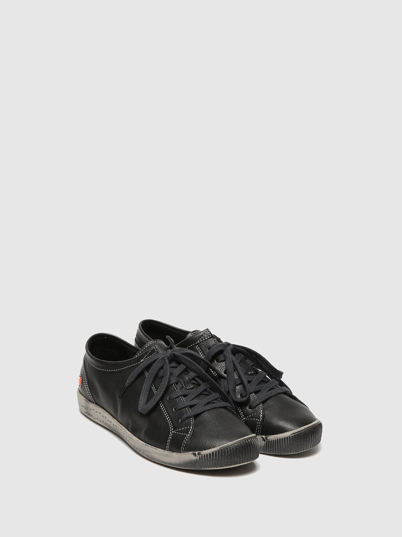 Lace-up Trainers ISLA BLACK