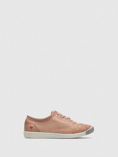 Softinos DarkSalmon Lace-up Trainers