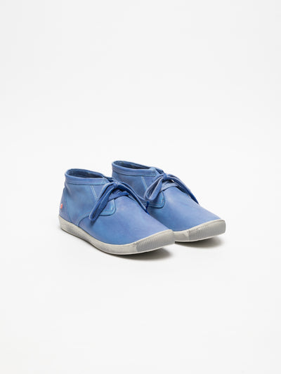 SOFTINOS SkyBlue Hi-Top Trainers