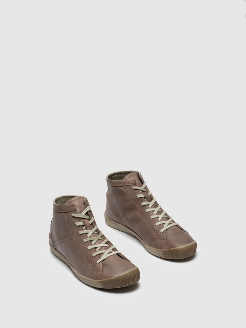 Softinos Hi-Top Trainers ISLEEN TAUPE