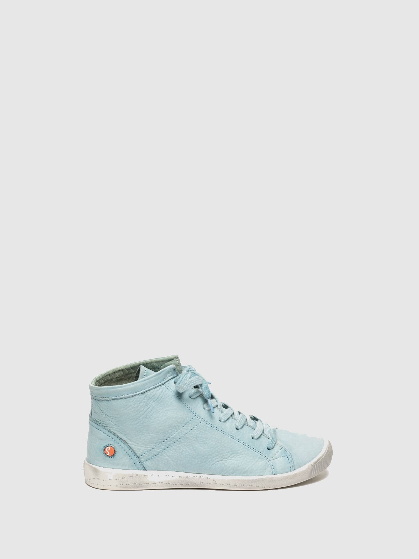 Softinos LightBlue Hi-Top Trainers