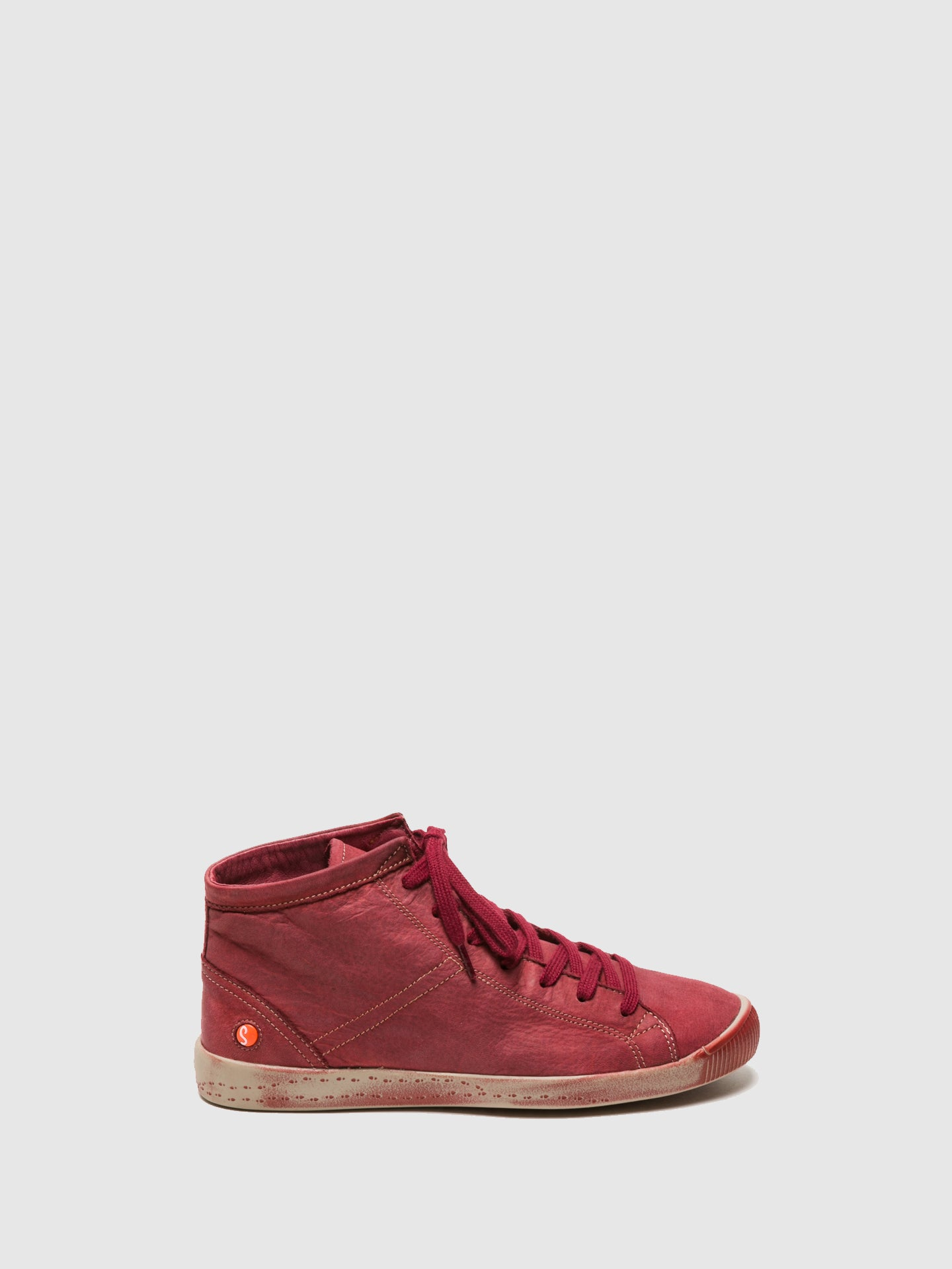 Softinos Hi-Top Trainers ISLEEN SCARLET