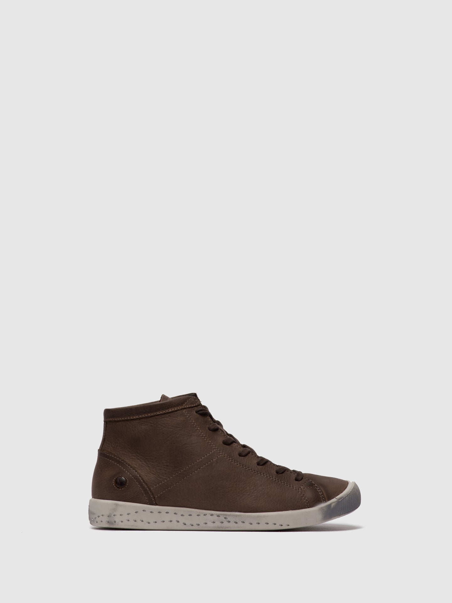 Softinos Hi-Top Trainers ISLEEN DK.BROWN