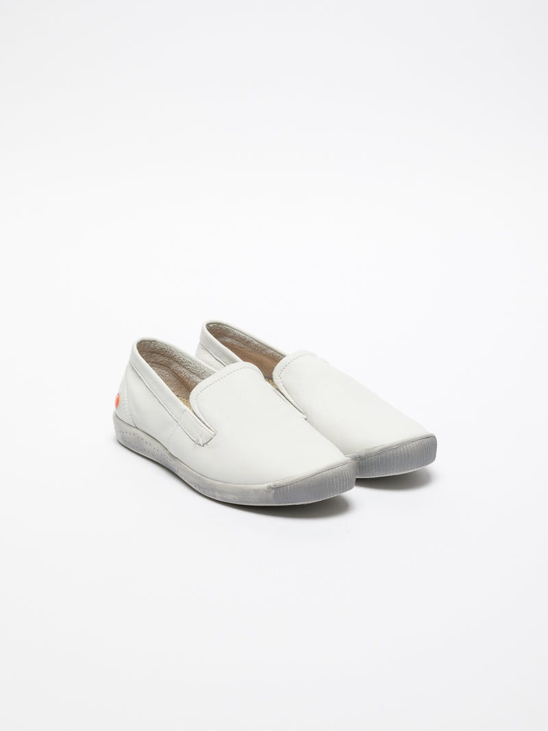 SOFTINOS White Slip-on Trainers
