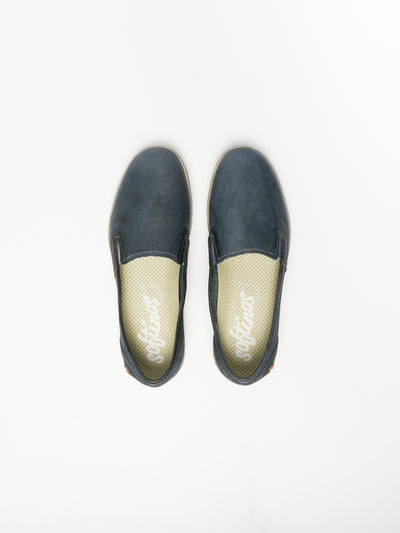 SOFTINOS Navy Slip-on Trainers