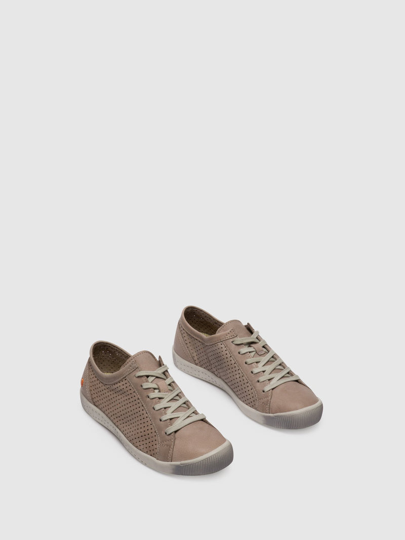 Lace-up Trainers ICA388SOF Taupe