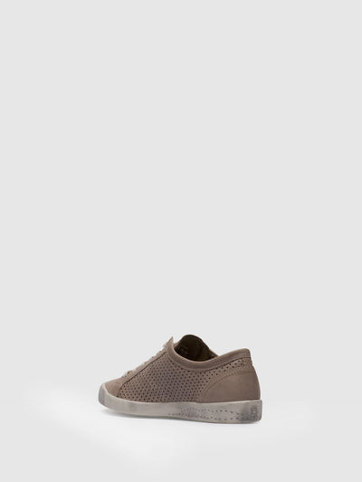 Softinos Lace-up Trainers ICA388SOF Taupe