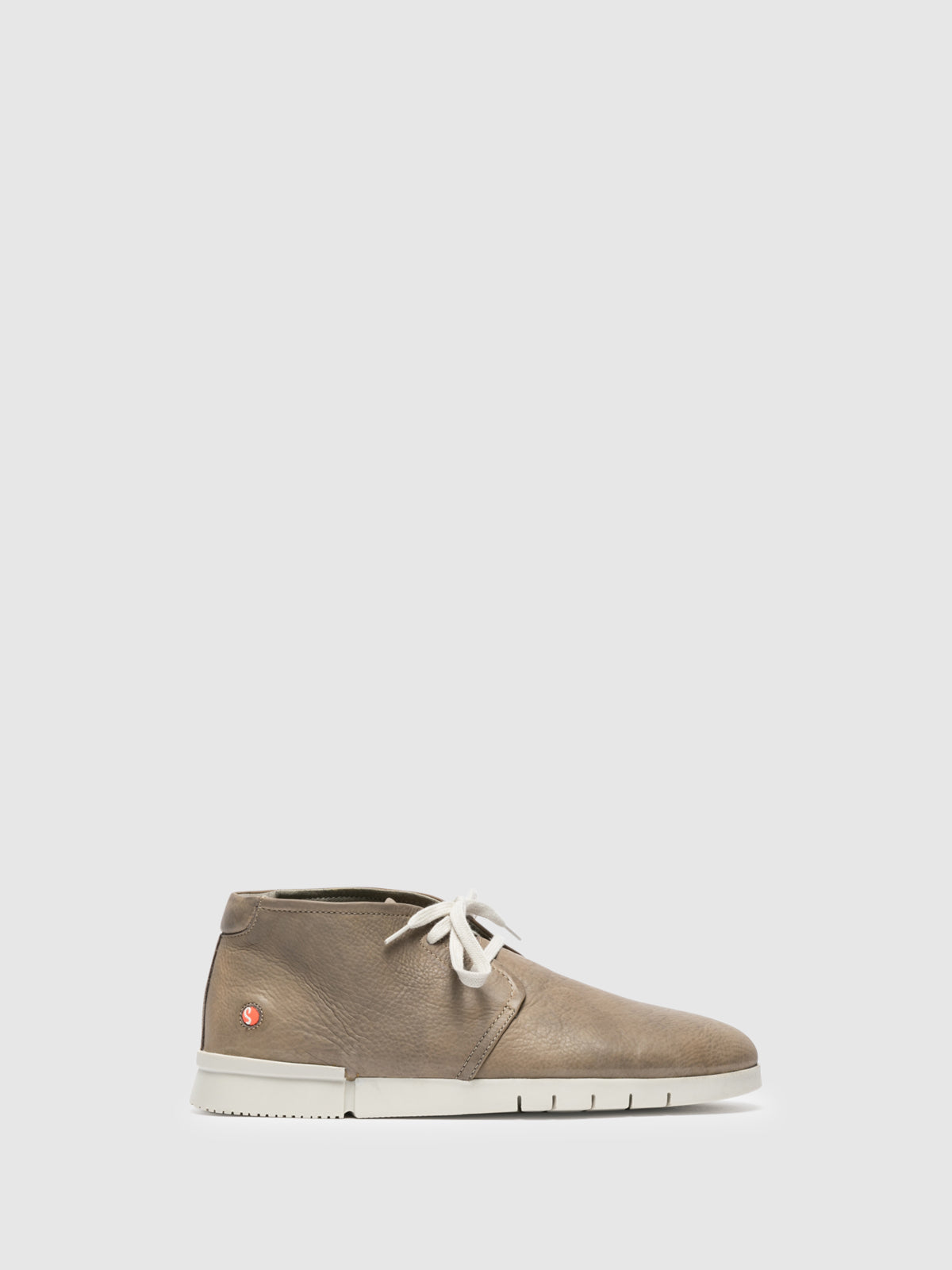 Softinos Gray Low-Top Trainers