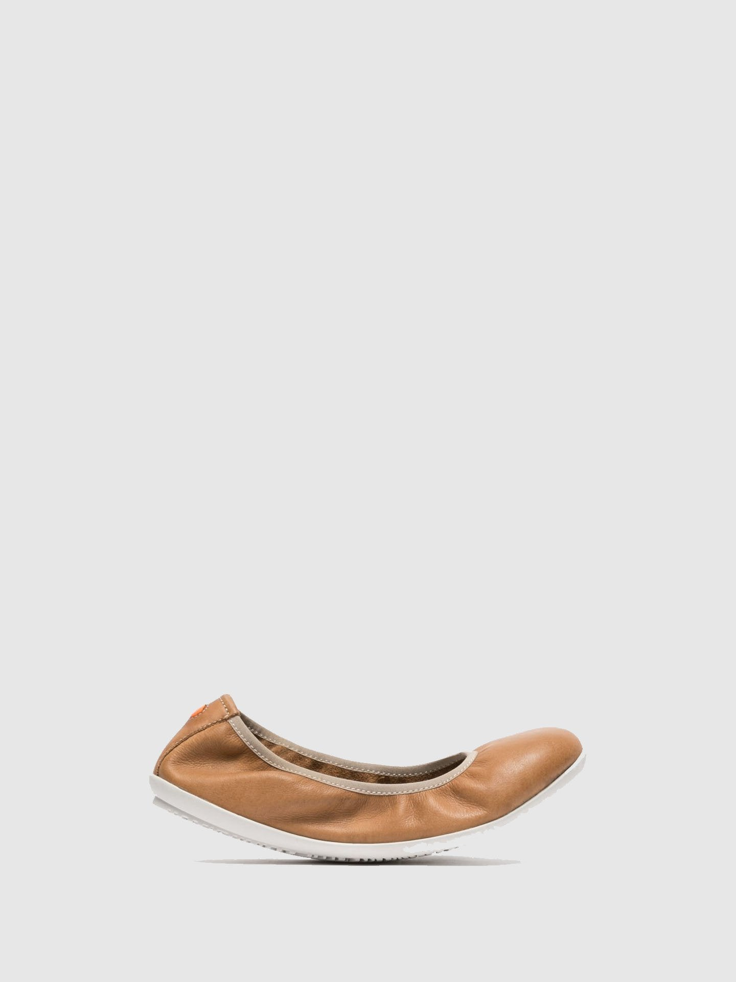 Softinos Brown Classic Ballerinas