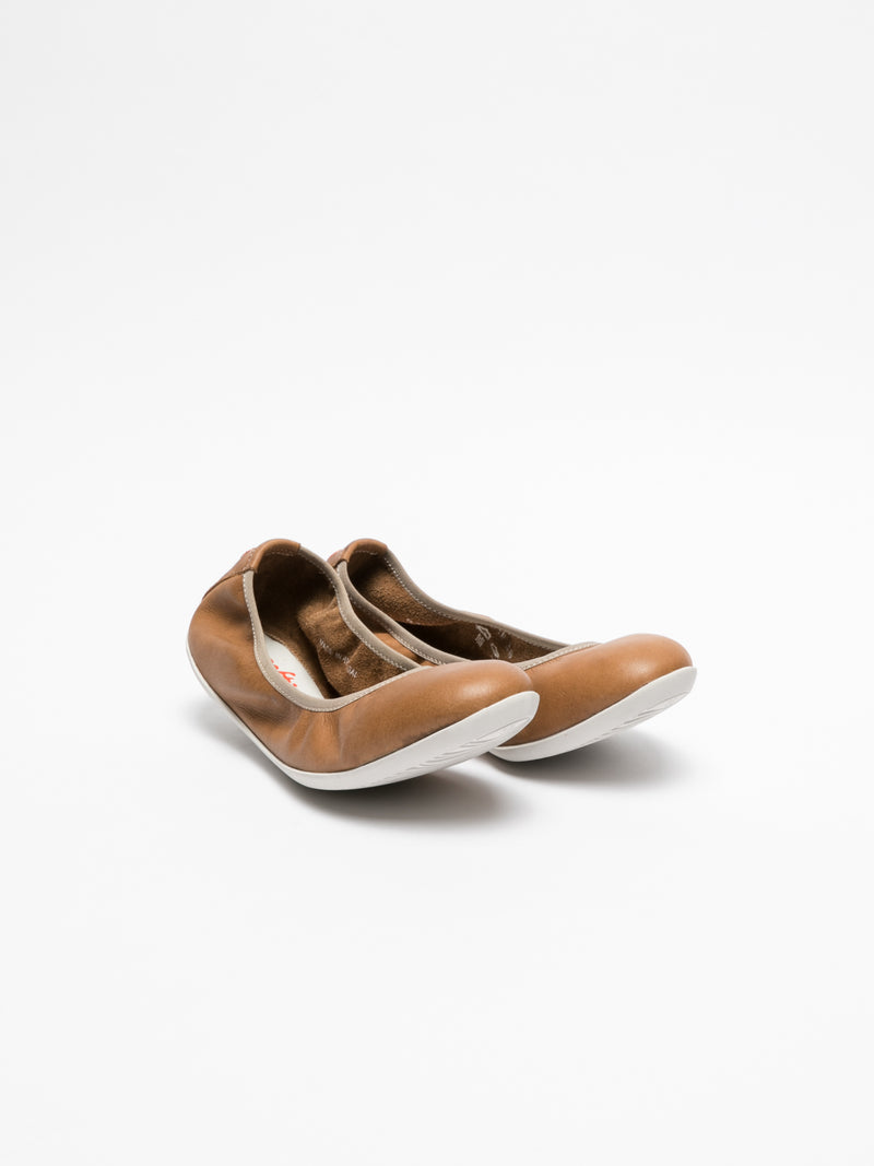 Brown Classic Ballerinas