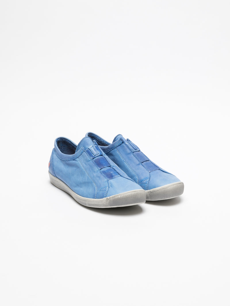SOFTINOS SkyBlue Slip-on Trainers
