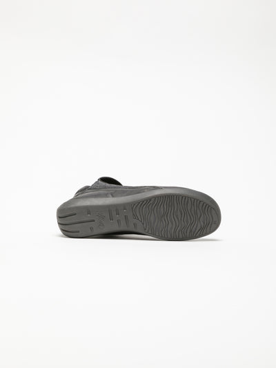 Softinos DarkGray Slip-on Trainers