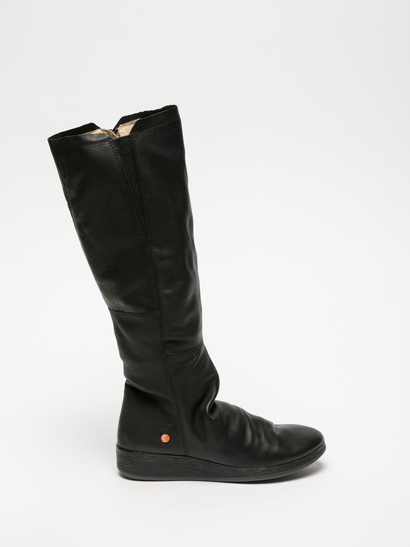 SOFTINOS Black Knee-High Boots