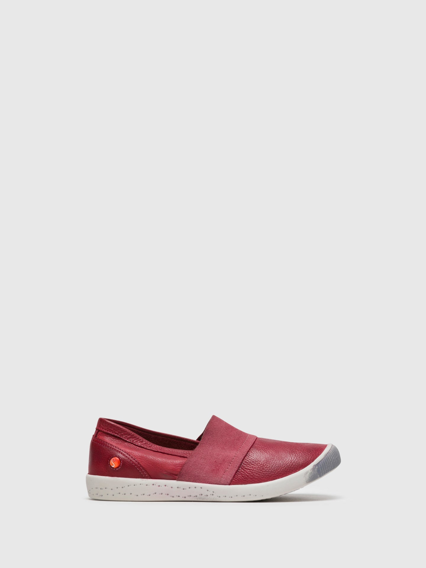 Softinos Slip-on Trainers INO497SOF Red