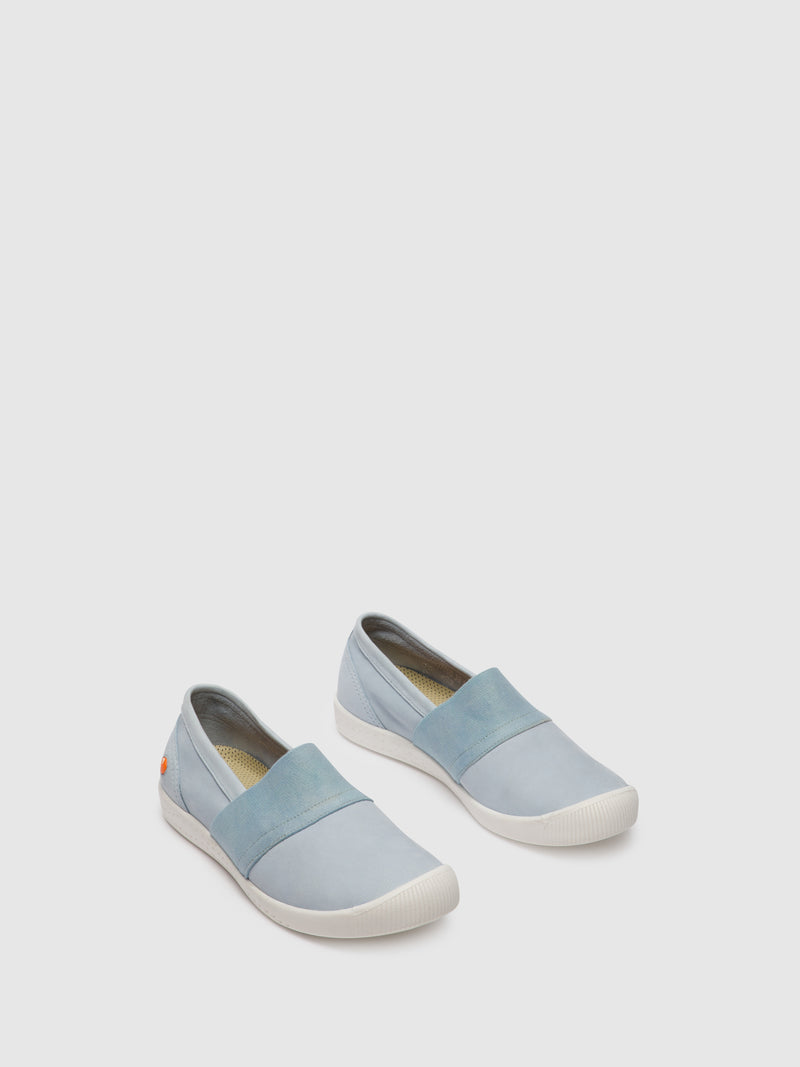 LightBlue Slip-on Shoes
