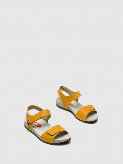 Softinos Yellow Velcro Sandals