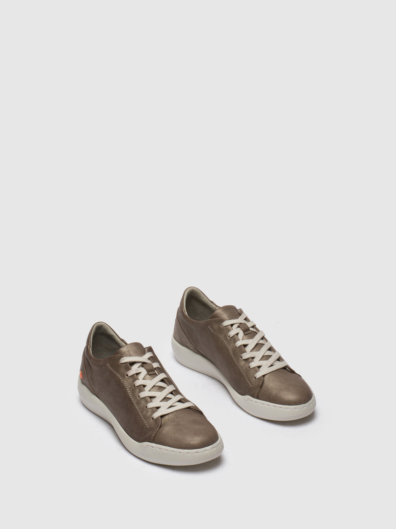 Softinos Lace-up Trainers BAUK543SOF GREY