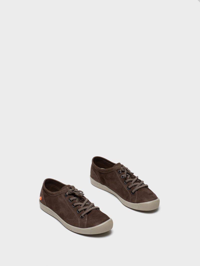 Chocolate Low-Top Trainers