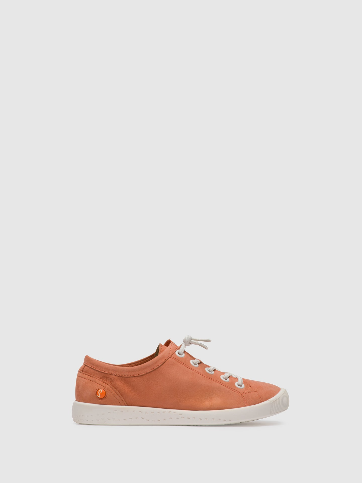 SOFTINOS Pink Lace-up Shoes