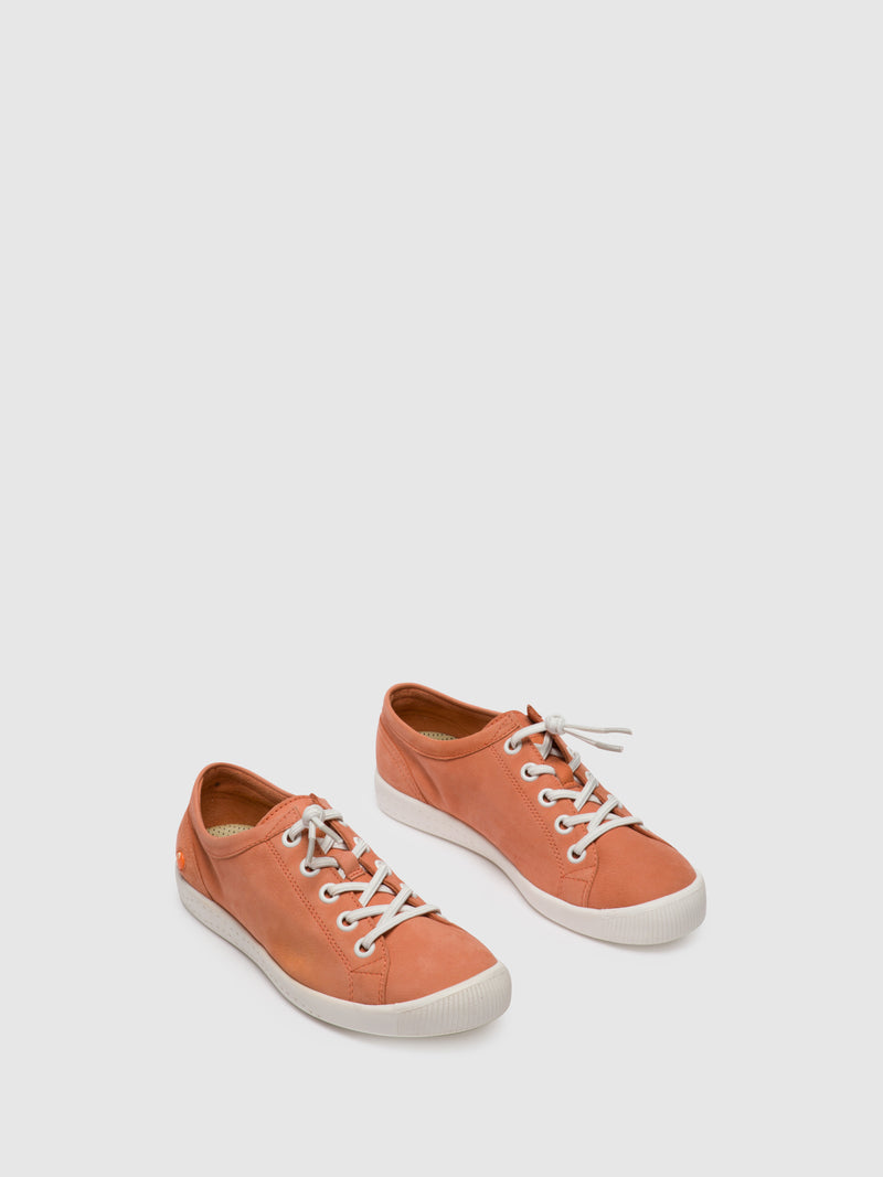 Softinos Lace-up Shoes ISLAII557SOF Warm Pink