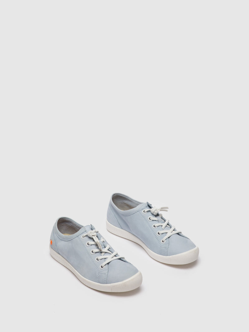 SOFTINOS Lace-up Shoes ISLAII557SOF Baby Blue