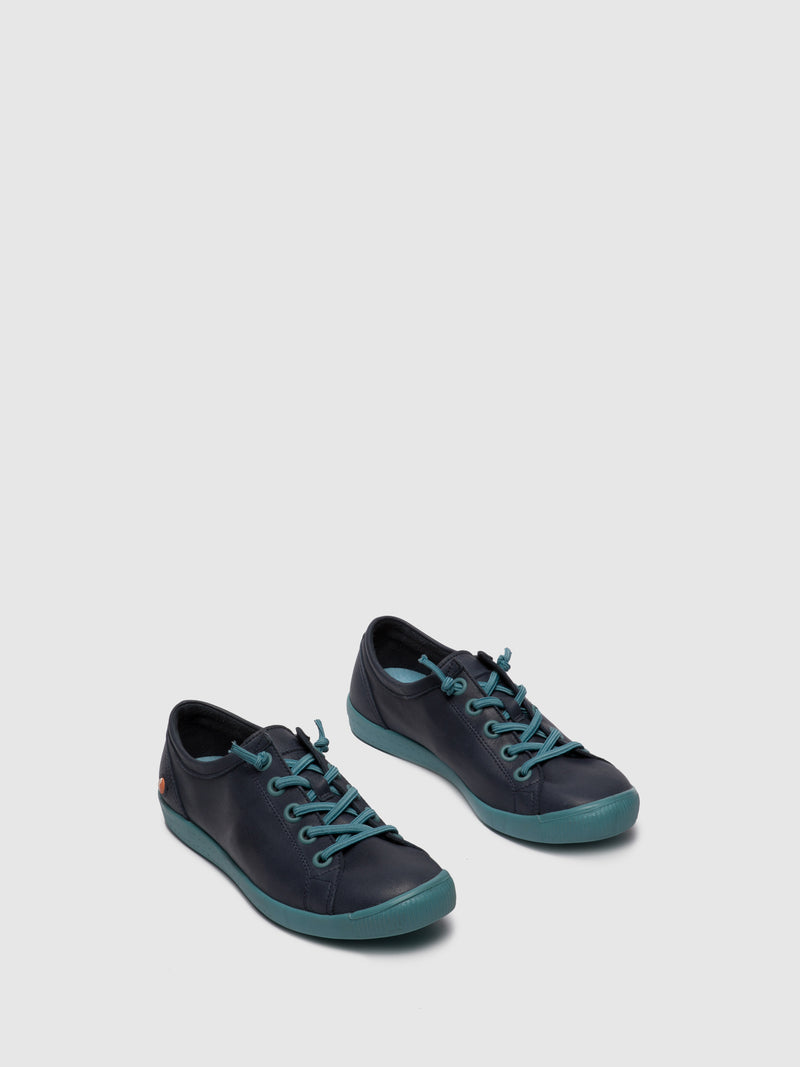 Softinos Elasticated Trainers ISLAII557SOF NAVY