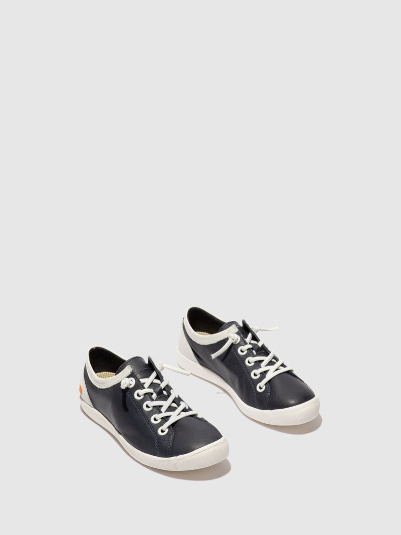 Softinos Slip-on Trainers ISLAII557SOF SUPPLE NAVY/WHITE