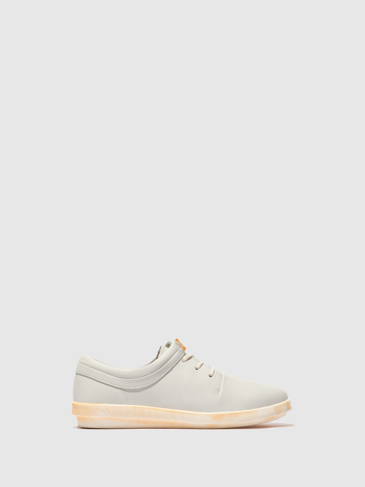 Softinos Lace-up Trainers CASY561SOF White