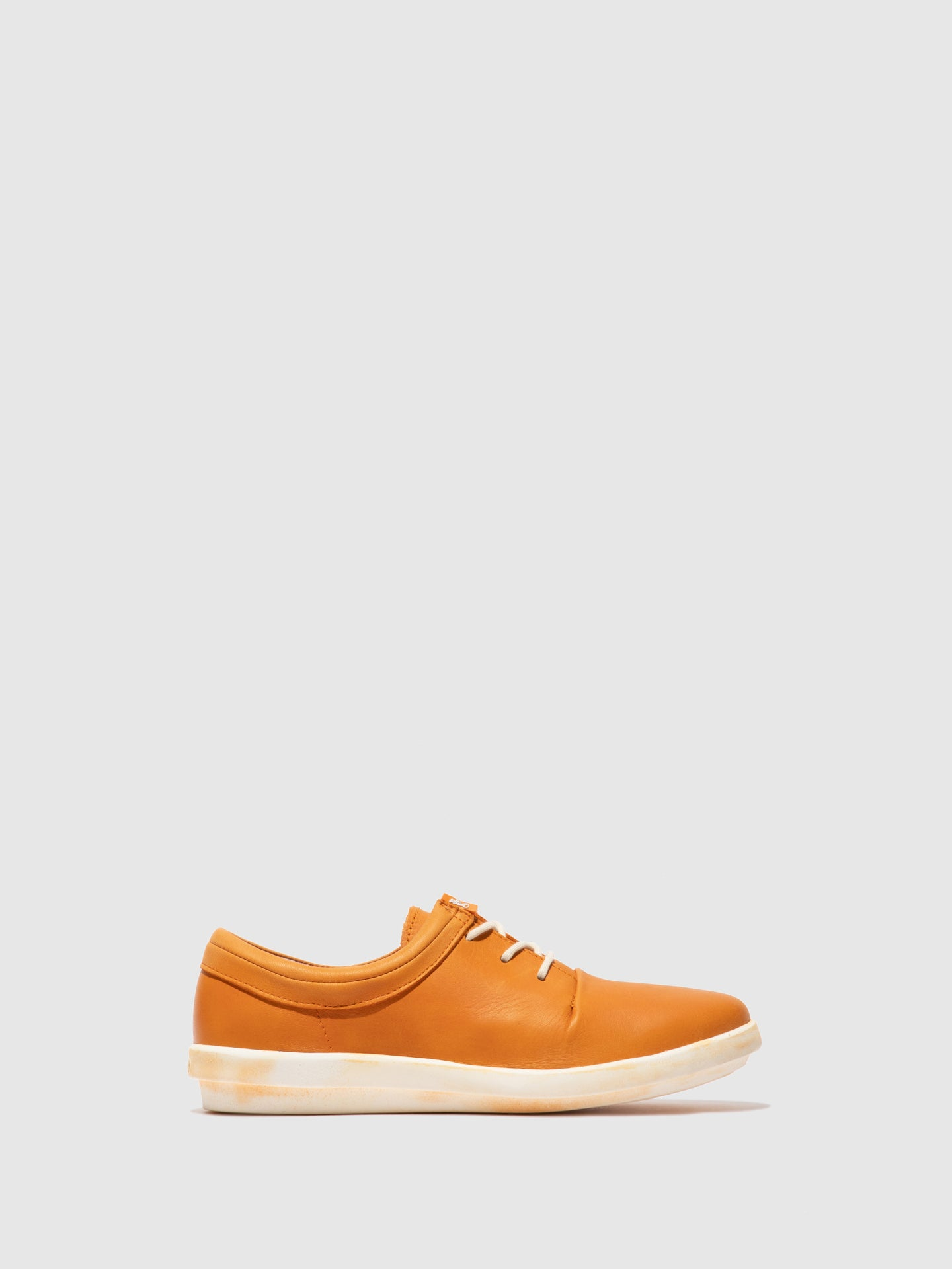 Softinos Lace-up Trainers CASY561SOF Orange