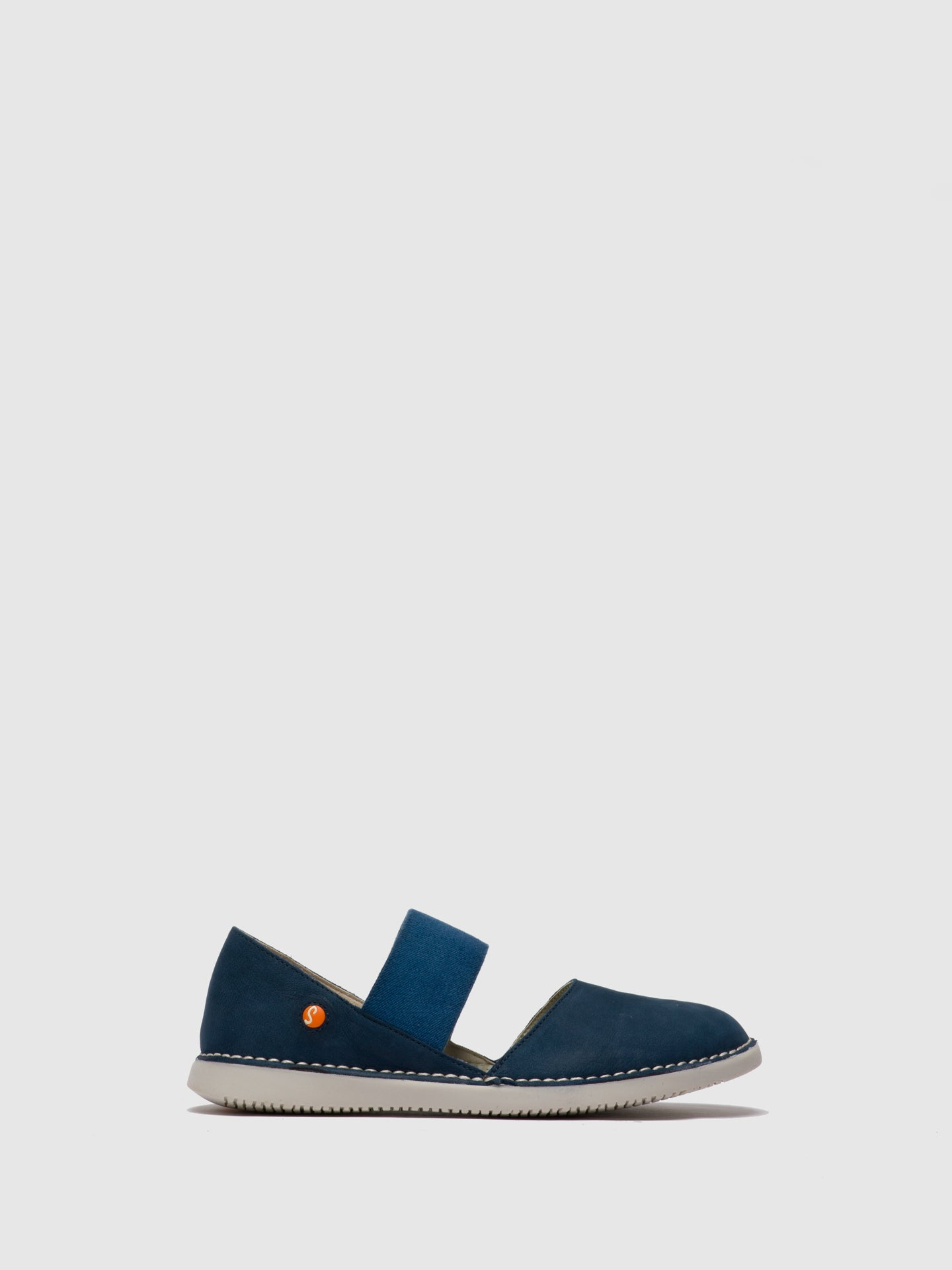 SOFTINOS Navy Elasticated Shoes