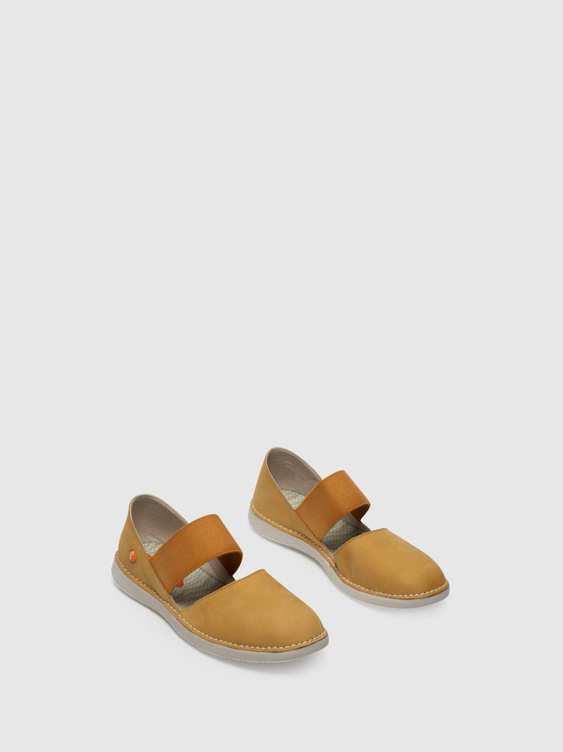 Yellow Elasticated Shoes