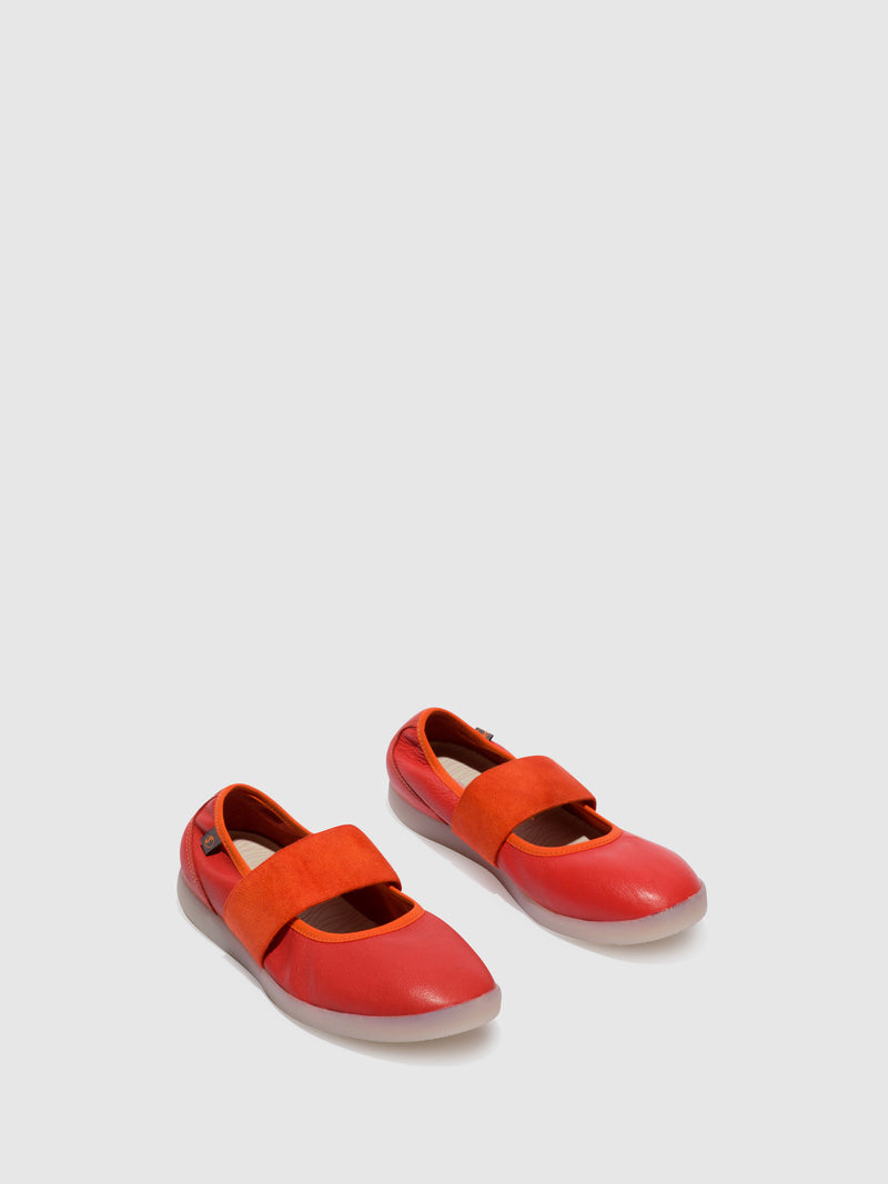 Softinos Slip-on Shoes LYNN577SOF Devil Red