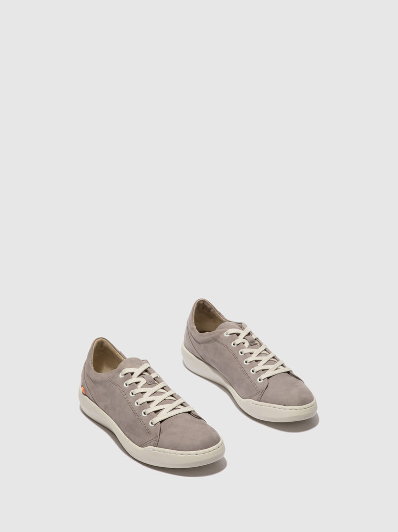 Softinos Lace-up Trainers BAUK579SOF GREY