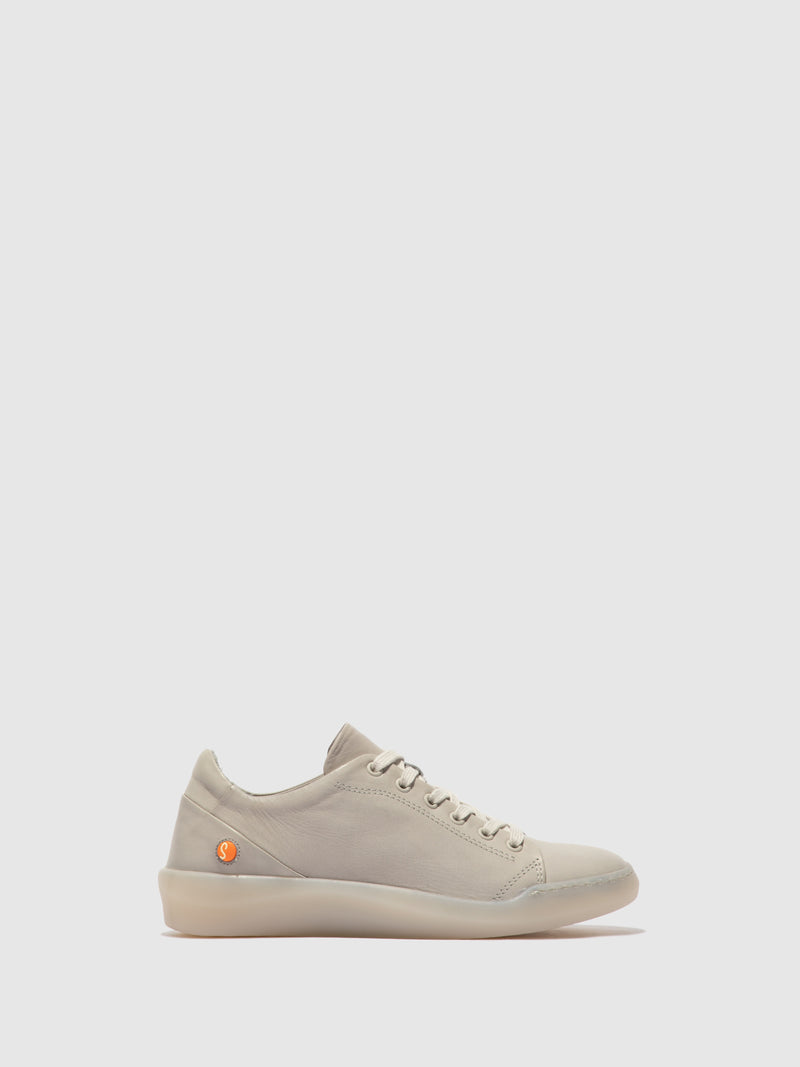 Softinos Lace-up Trainers BAUKII579SOF SUPPLE LIGHT GREY