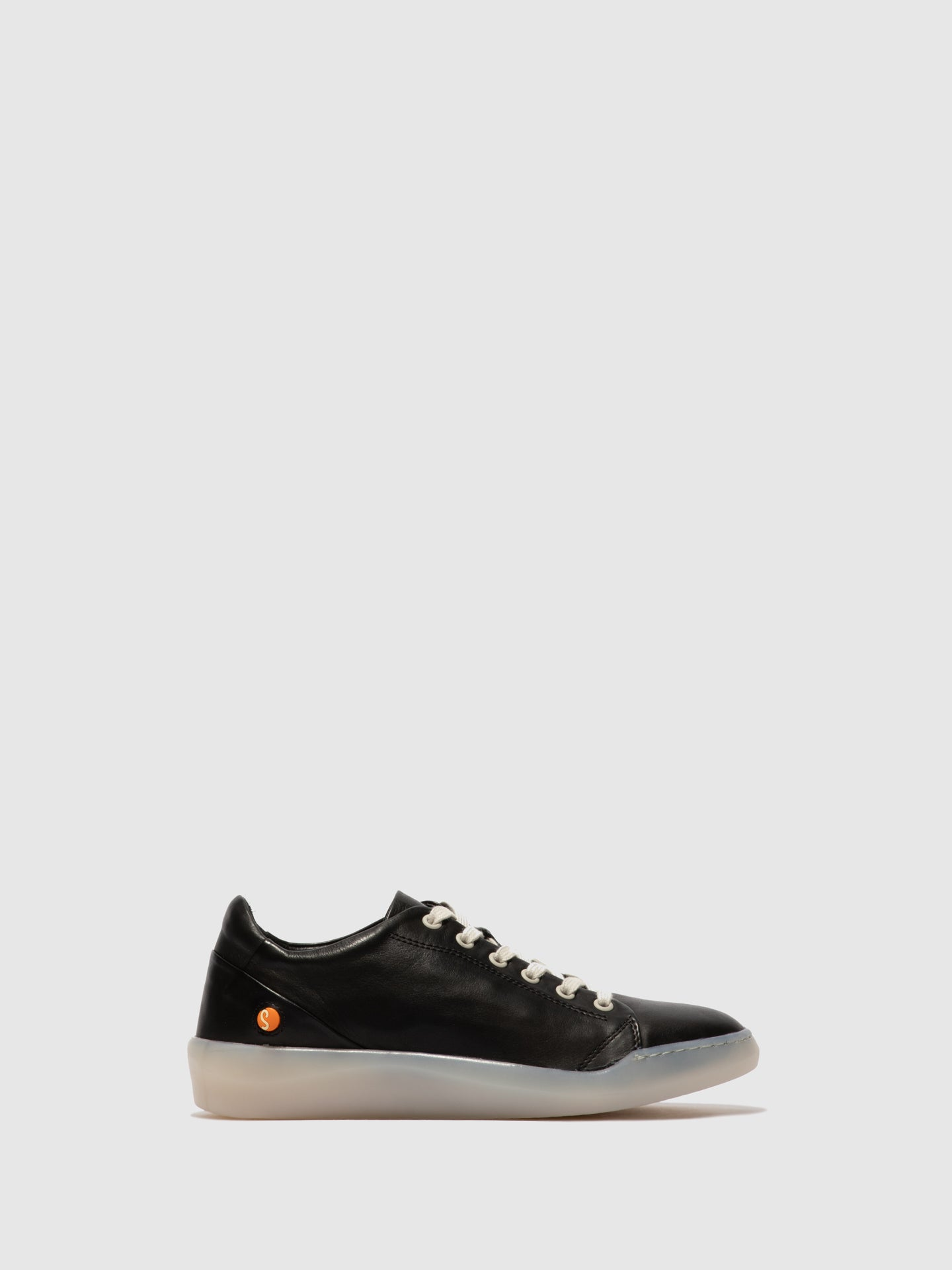 Softinos Lace-up Trainers BAUKII579SOF SUPPLE BLACK