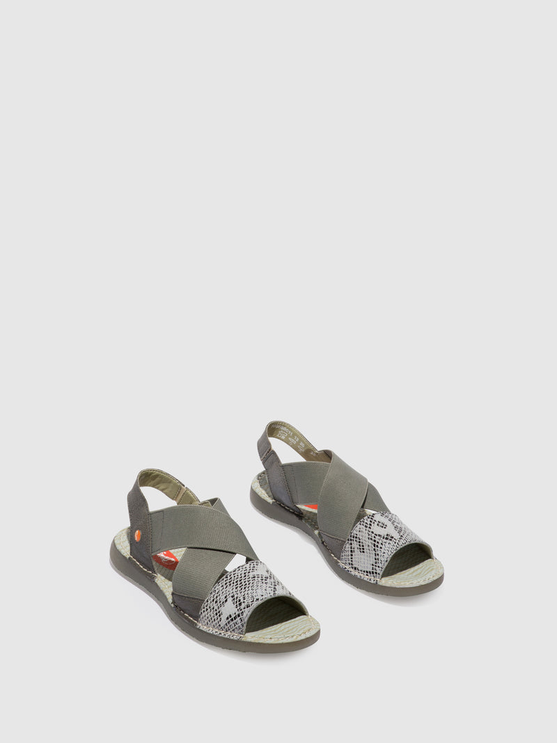 Softinos Crossover Sandals TEUL580SOF Offwhite