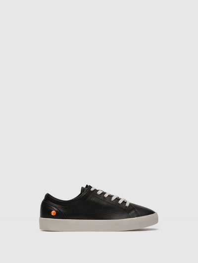 Softinos Lace-up Trainers SADY584SOF Black