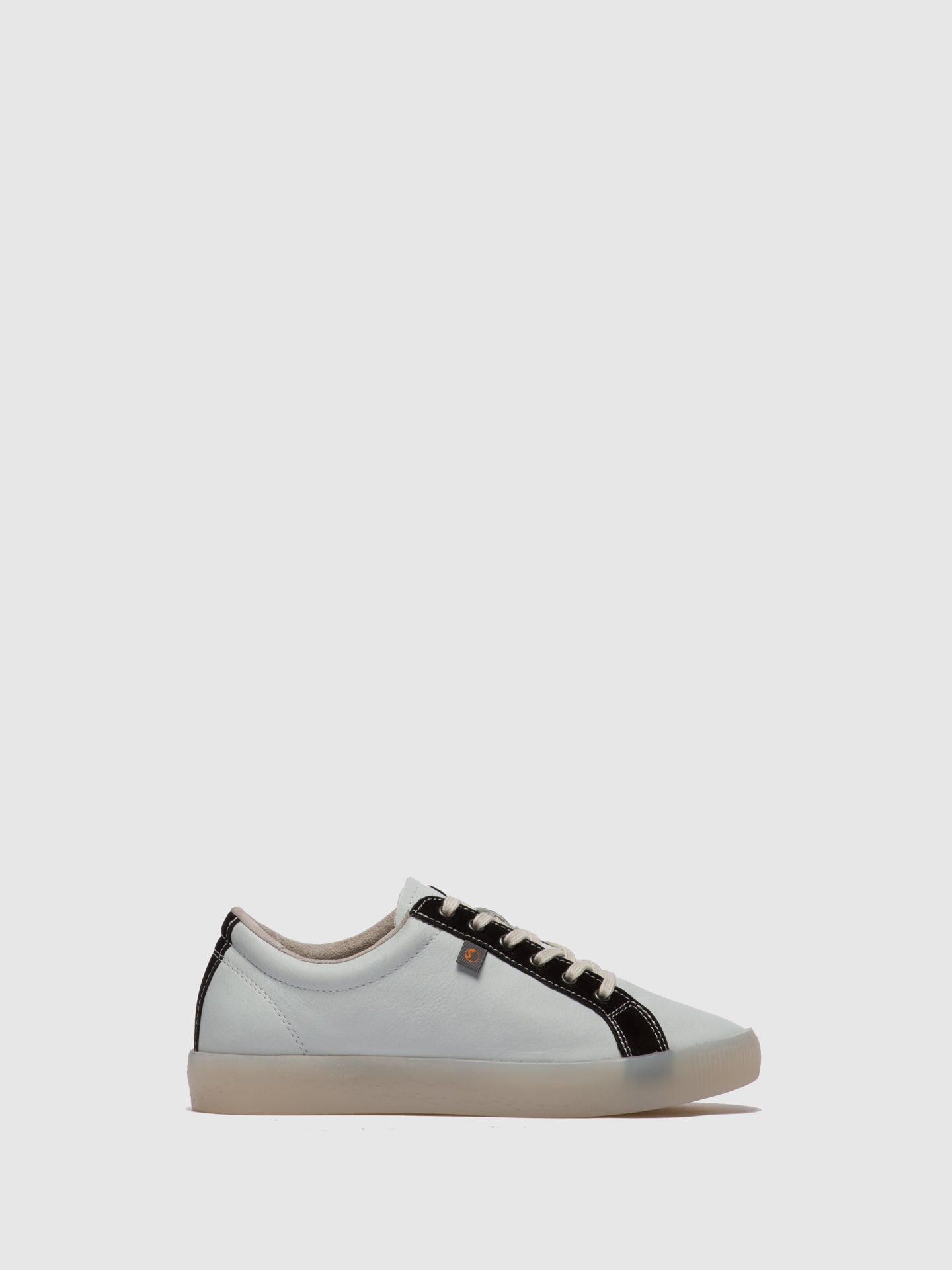 SOFTINOS Lace-up Trainers SURY585SOF White/Black